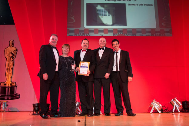 Toshiba's SMMS-e VRF wins top award